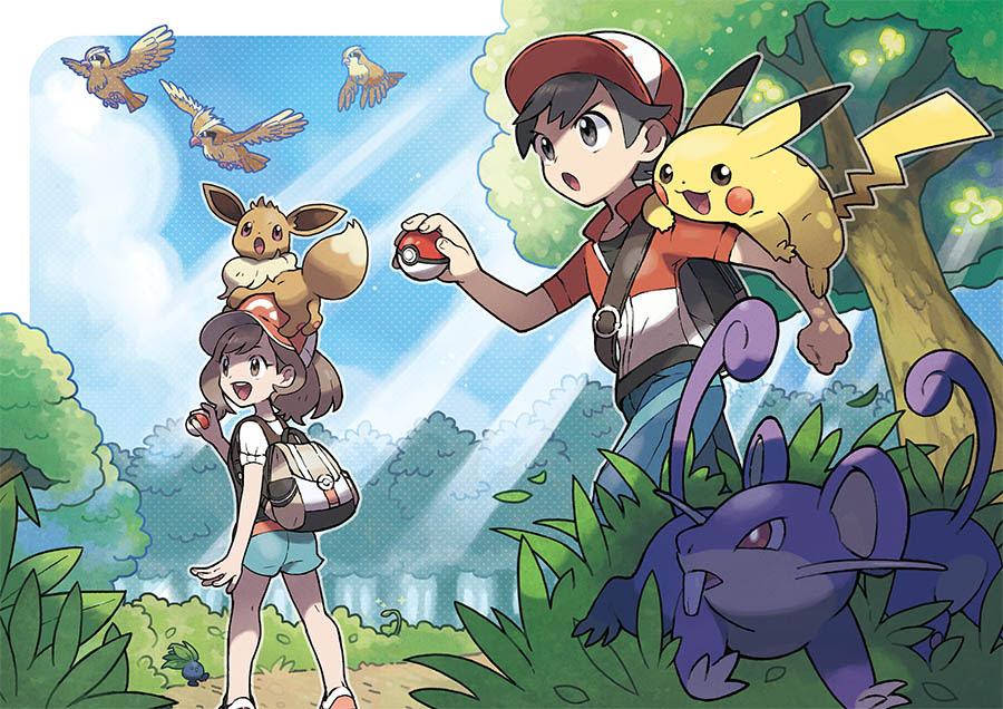 NP: Nueva información sobre Pokémon: Let's Go, Pikachu! y Pokémon: Let's Go, Eevee!