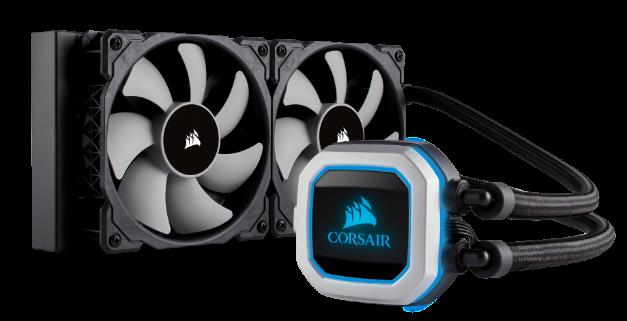 NP: Refrigeración líquida que se ve, pero no se oye CORSAIR lanza el nuevo sistema de refrigeración líquida para CPU Hydro Series H100i PRO