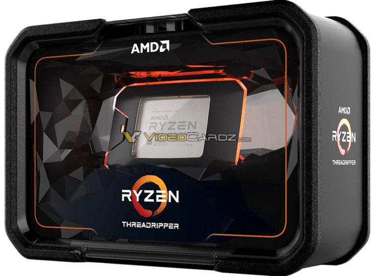 AMD Ryzen Threadripper 2990WX llega el 13 de agosto por 1799 dólares