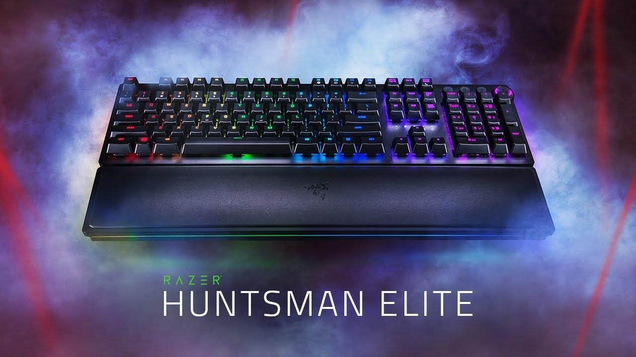 Review Razer Huntsman Elite: Juega a la velocidad de la luz.