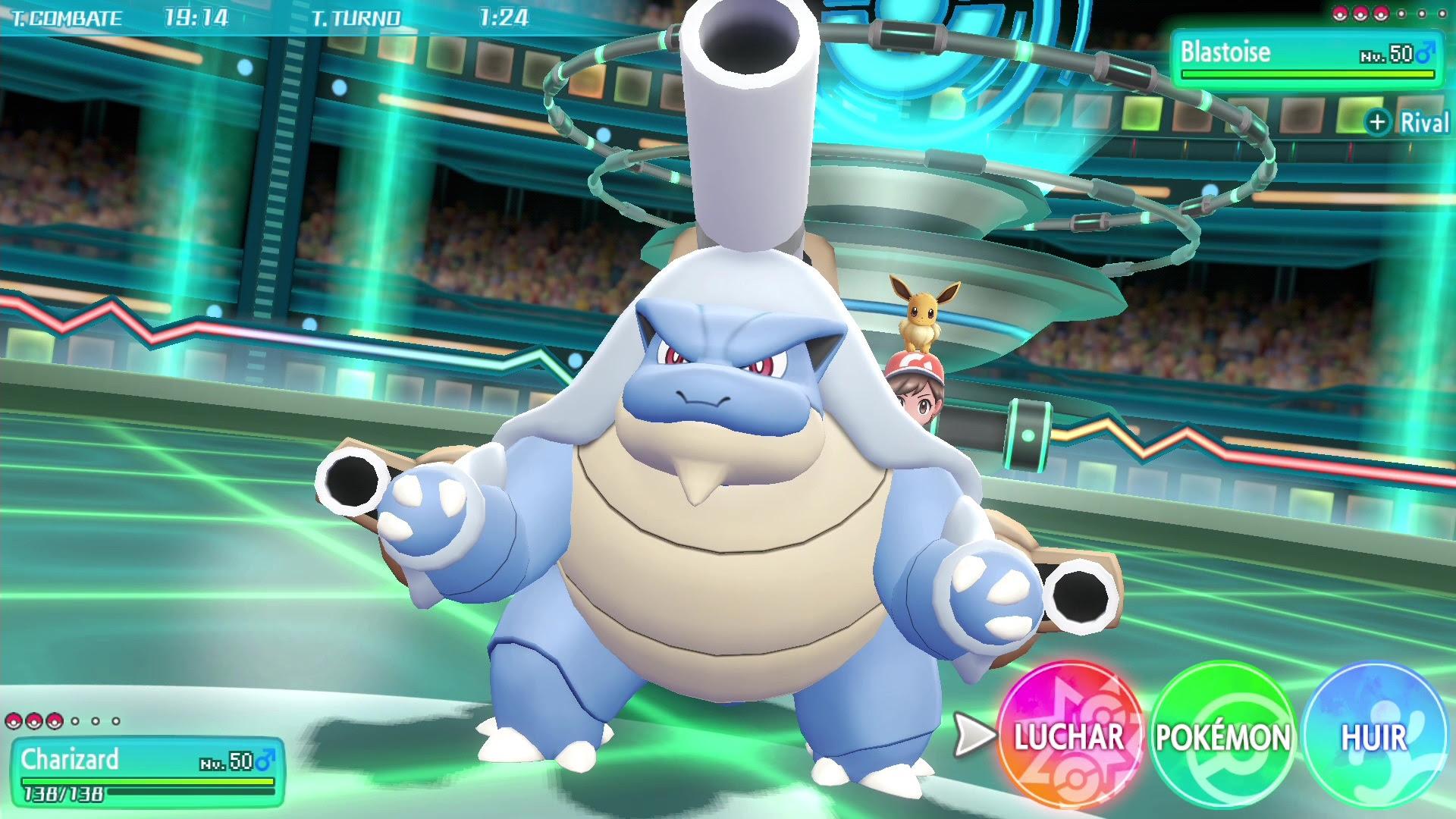 NP: Desvelada la megaevolución y mucho más en el último anuncio de Pokémon: Let's Go, Pikachu! y Pokémon: Let's Go, Eevee!