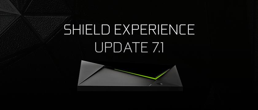 NP: NVIDIA SHIELD se actualiza a la versión 7.1