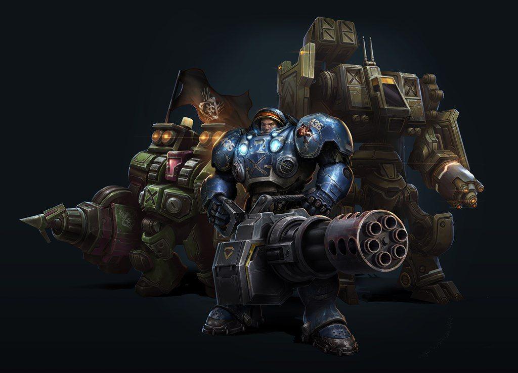 NP: Comandante cooperativo Tychus ya disponible para StarCraft II