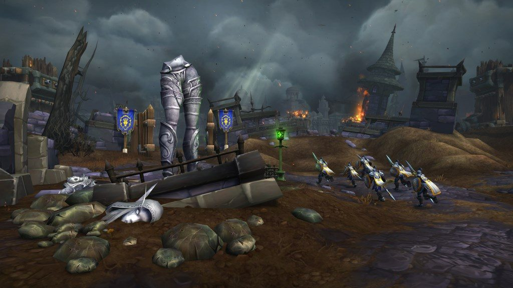 Np World Of Warcraft Battle For Azeroth Nueva Banda Frente De