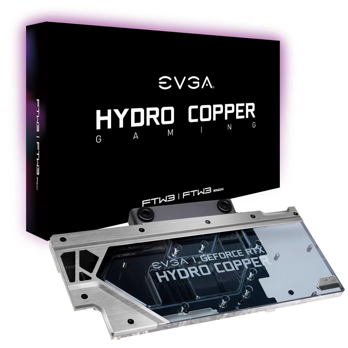 EVGA presenta sus nuevos Hydro Copper para las GeForce RTX 20