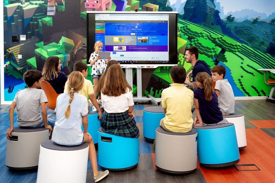 NP: #MicrosoftEduLab muestra el futuro de las aulas según la visión de Microsoft para la innovación educativa