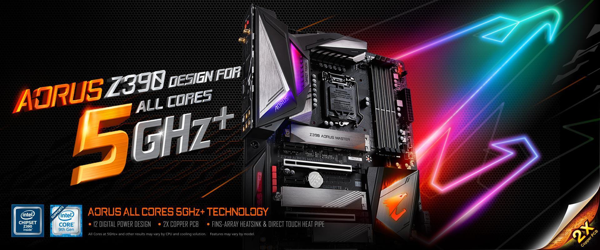 NP: GIGABYTE actualiza la BIOS de la serie 300 para las próximas CPUs Intel Core De 9na generación con una nueva versión