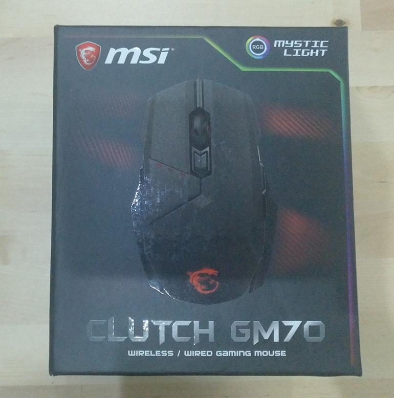Análisis ratón MSI GM70 Clutch