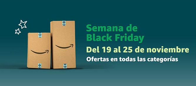 Amazon comienza el Black Friday con miles de ofertas