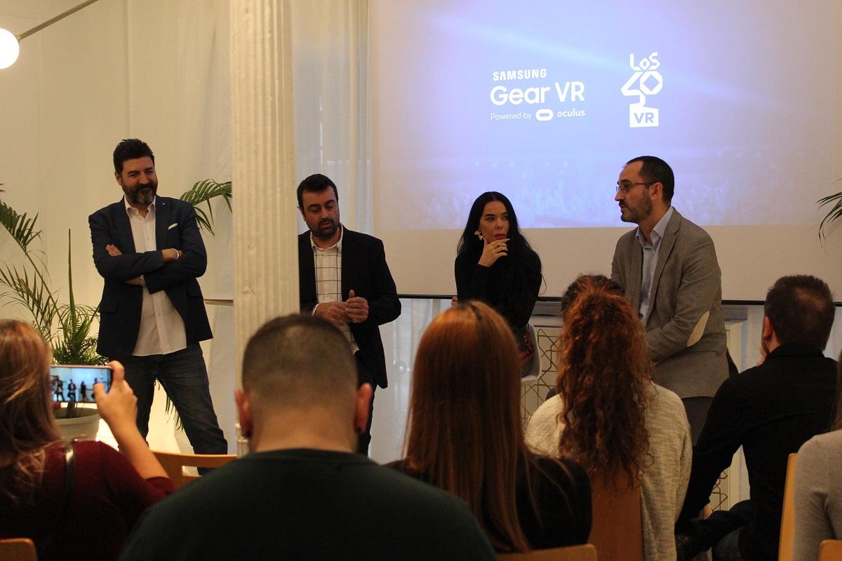 NP: LOS40 presentan junto a Samsung su primera aplicación de realidad virtual