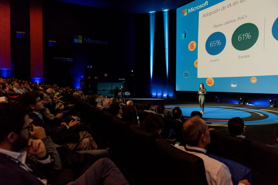 NP: Microsoft Tech Summit Madrid reúne a cerca de 3.000 profesionales de TI en torno a la tecnología que potencia la transformación digital