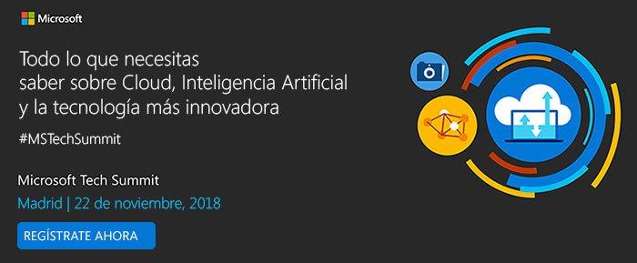 NP: Microsoft Tech Summit Madrid, punto de encuentro de los profesionales de TI alrededor de la tecnología más innovadora