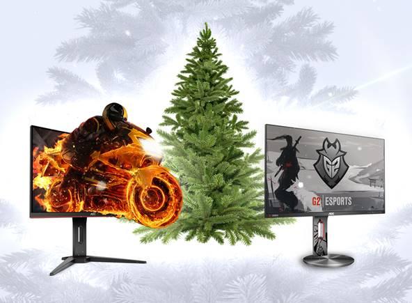 NP: Deja espacio debajo del árbol para los monitores gaming de AOC de la serie G1