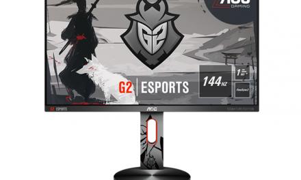 NP: AOC anuncia el nuevo G2590PX/G2 – el primer monitor de la gama G2 Esports Signature Edition