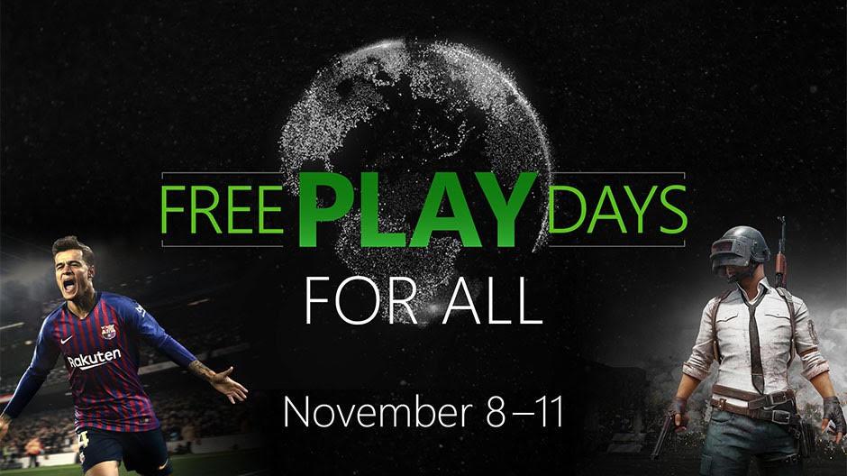 NP: Días de juego gratis con PlayerUnknown's Battlegrounds y PES 2019 en Xbox One