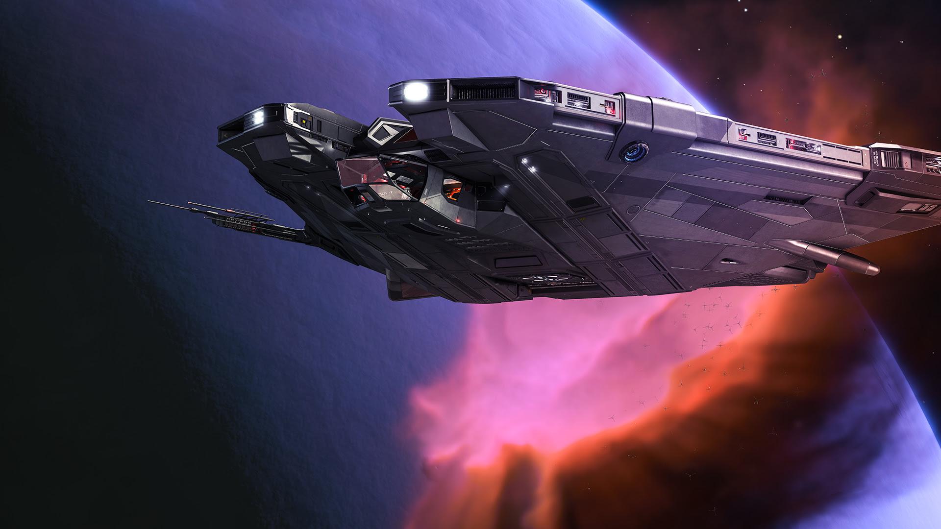 NP: Elite Dangerous: Beyond Chapter Four revela por primera vez la nave Mamba