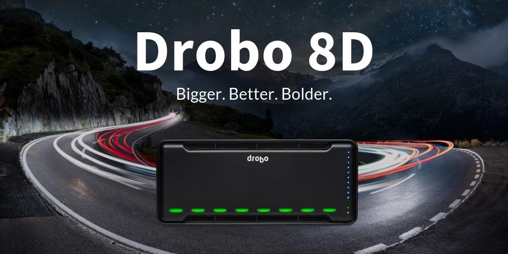 NP: Drobo lanza 8D de alto rendimiento para transformar los flujos de trabajo de almacenamiento