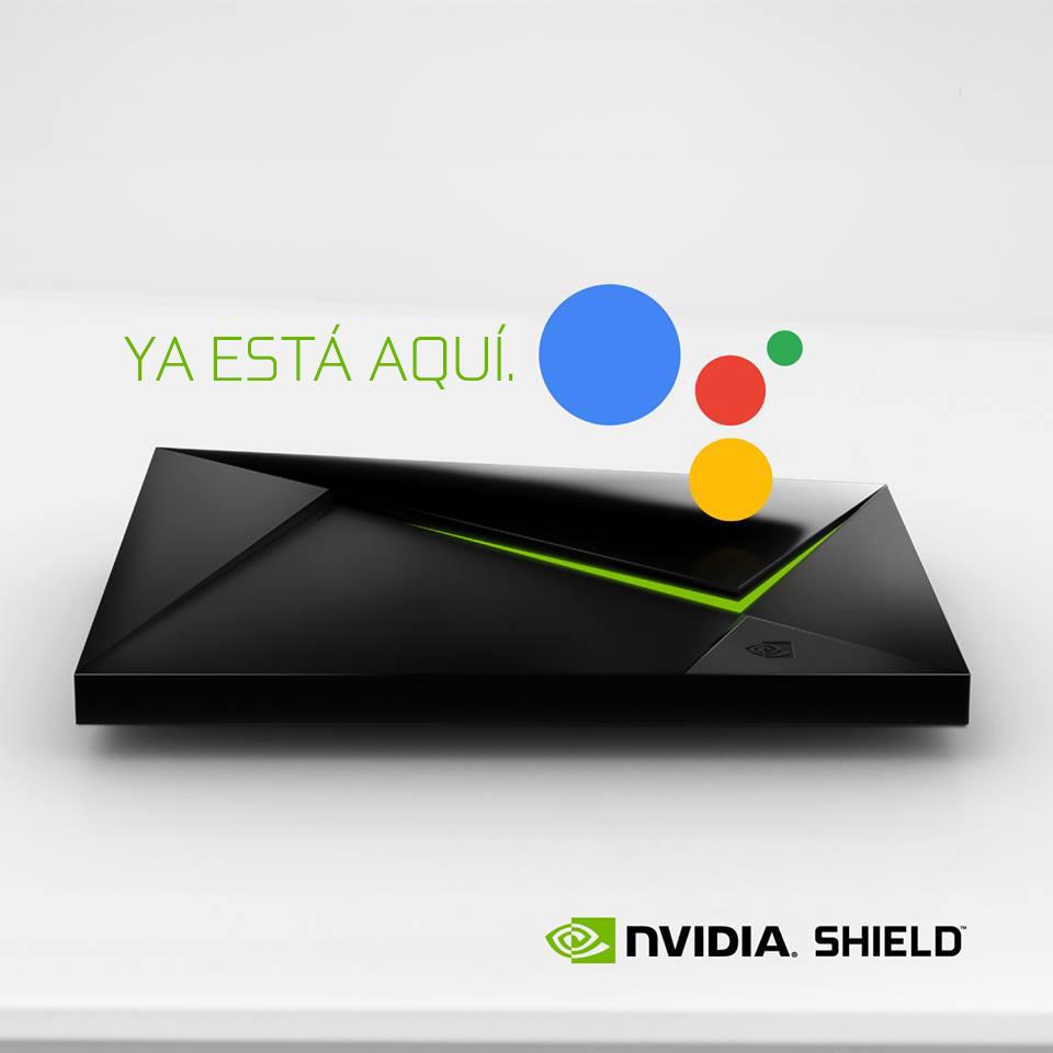 NP: Google Assistant llega a Shield TV en España