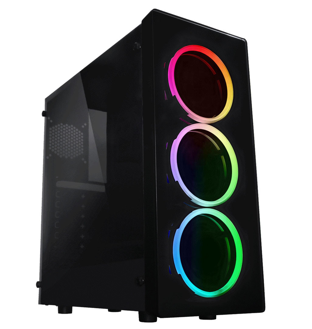 Raidmax Neon RGB, nueva torre con iluminación LED RGB en su frontal