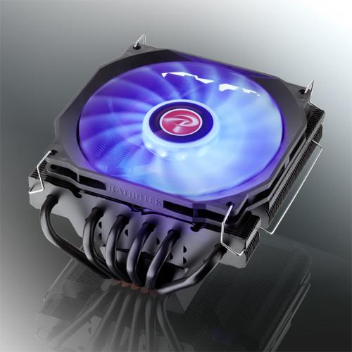 Raijintek actualiza su disipador Pallas con iluminación LED RGB