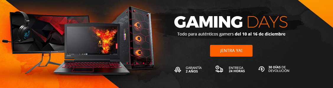 Arrancan los Gaming Days en PcComponentes