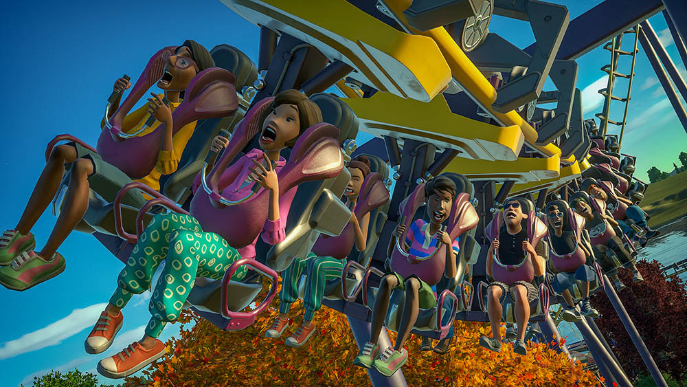 NP: Planet Coaster Magnificent Rides Collection ya está disponible