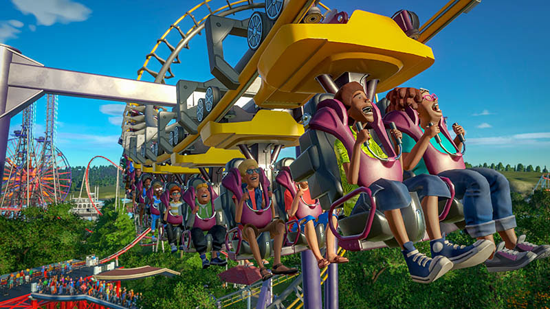NP: Planet Coaster Magnificent Rides Collection se lanzará el 18 de diciembre
