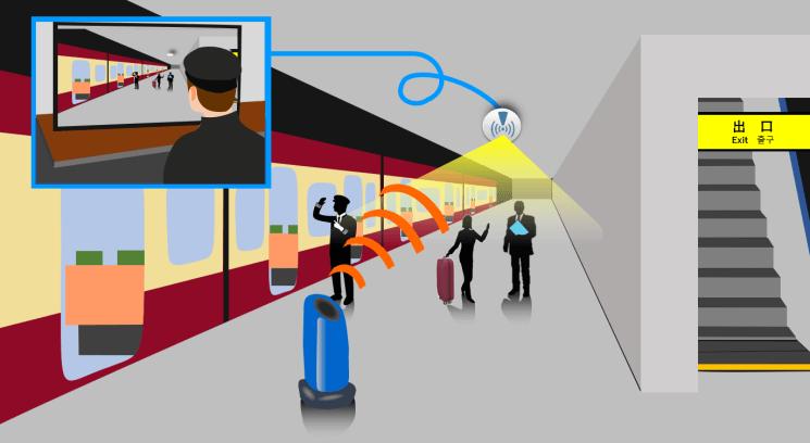 NP: Samsung y KDDI muestran una comunicación de video 4K en tiempo real con 5G en una estación de tren japonesa