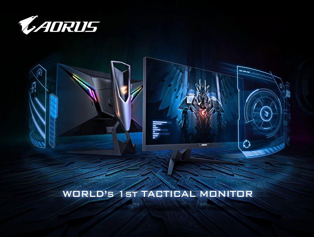 NP: El primer monitor de juego táctico del mundo ¡Lanzamiento del AORUS AD27QD!