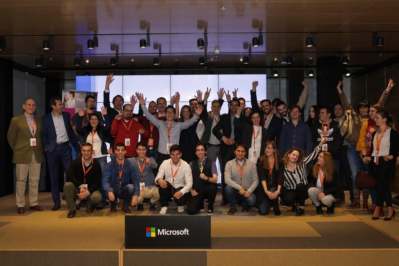 NP: Microsoft y Generation entregan los diplomas de la primera edición de su programa de becas en Azure
