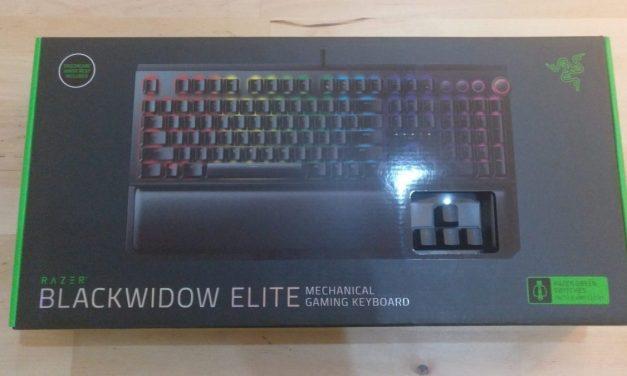 [Review] Teclado Razer Blackwidow Elite