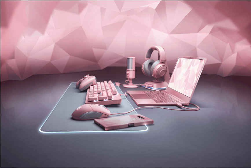 NP: Razer presenta su nueva línea de productos Quartz para San Valentín