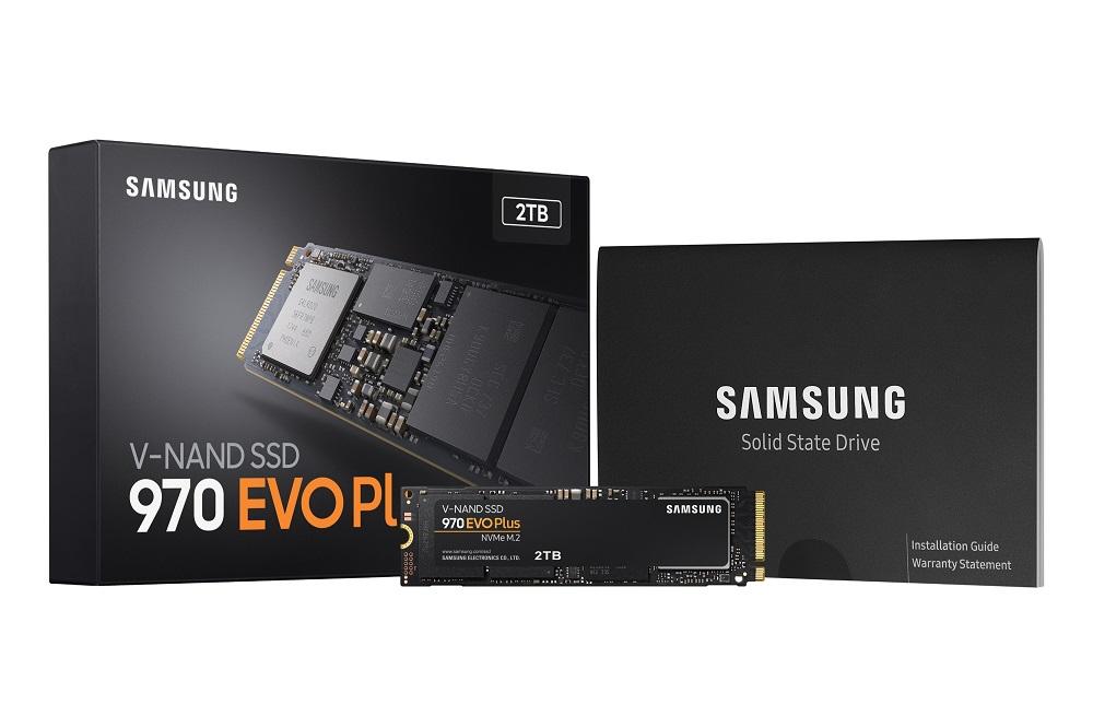 NP: Samsung Electronics mejora el rendimiento de sus memorias SSD NVMe con 970 EVO Plus
