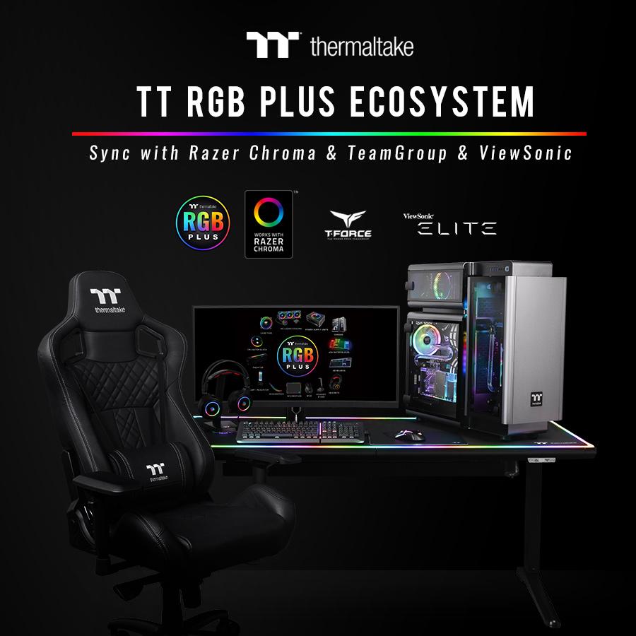 NP: Thermaltake anuncia la asociación de TT RGB PLUS con Razer, TEAMGROUP y ViewSonic