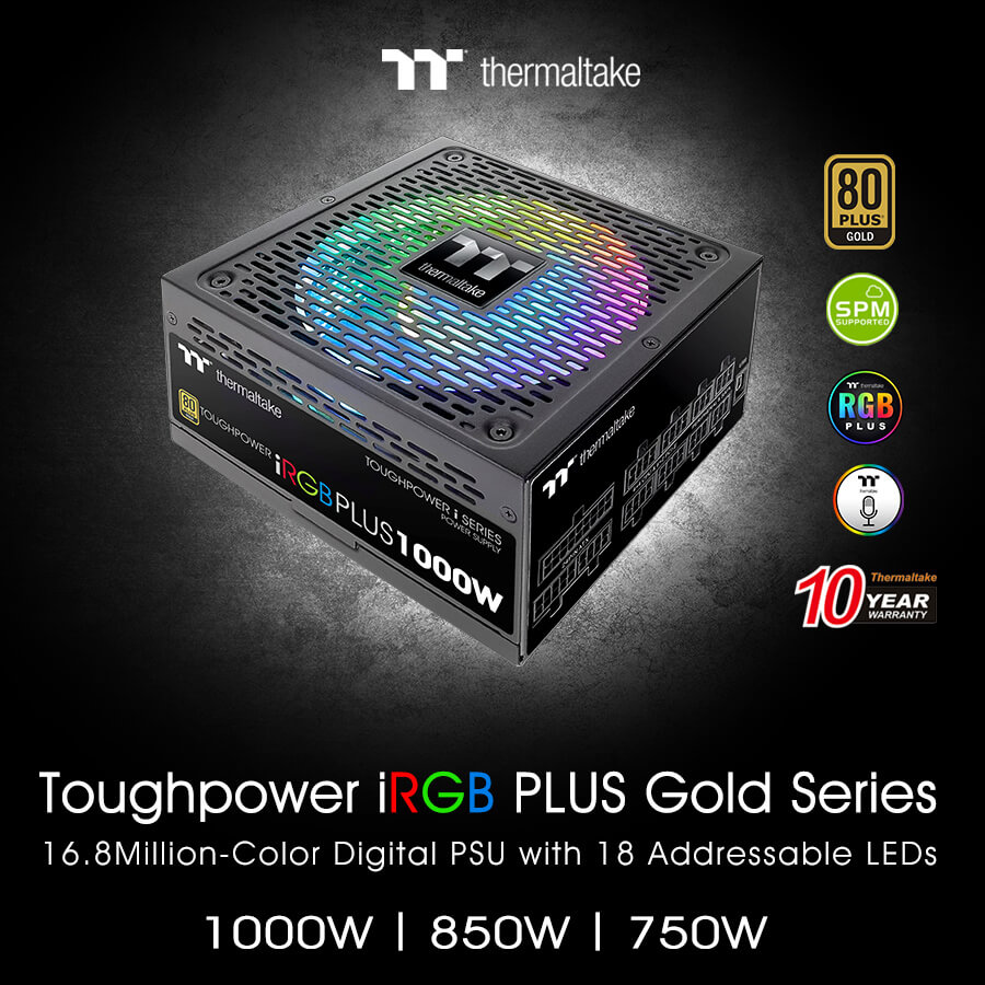 NP: Thermaltake nuevo Toughpower iRGB PLUS Gold Series TT Premium Edition