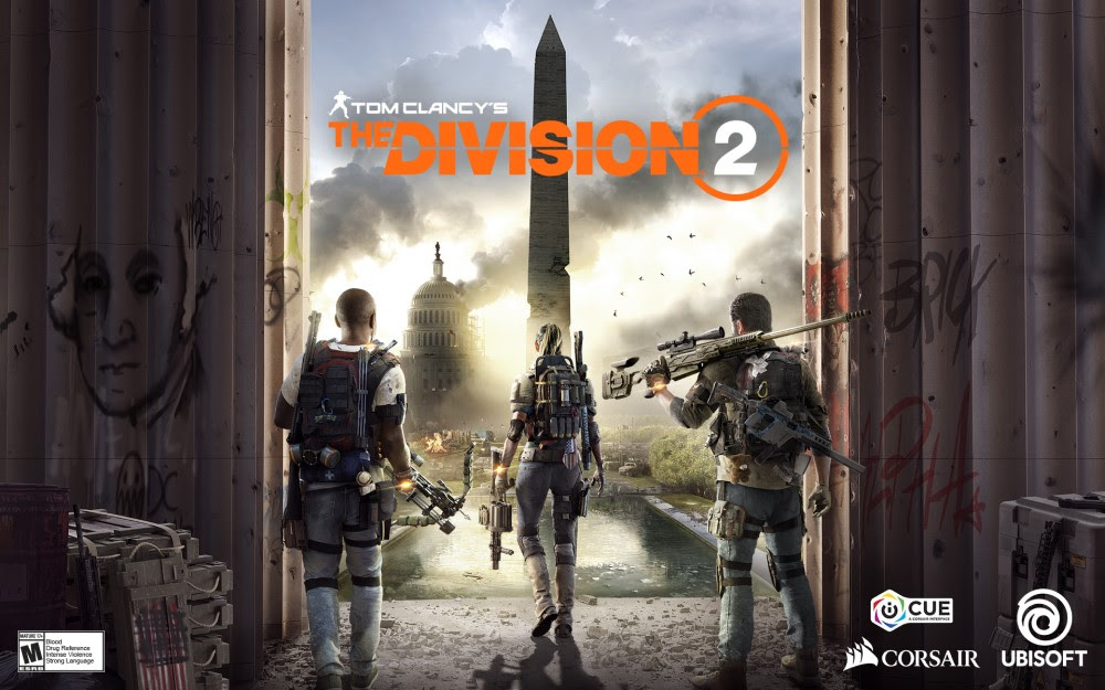 NP: La batalla llega a Washington: CORSAIR se asocia con Ubisoft para iluminar Tom Clancy's The Division 2