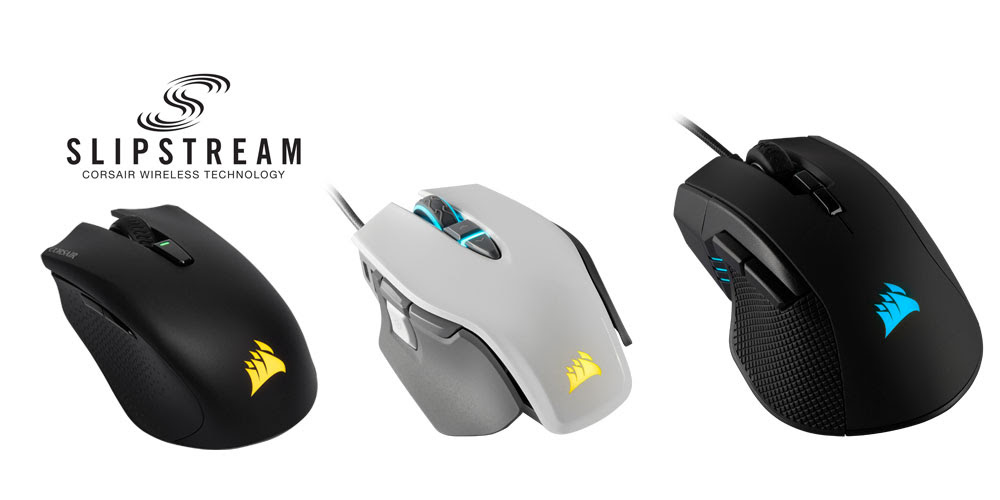 NP: CORSAIR lanza tres nuevos ratones para juegos junto con SLIPSTREAM CORSAIR WIRELESS TECHNOLOGY