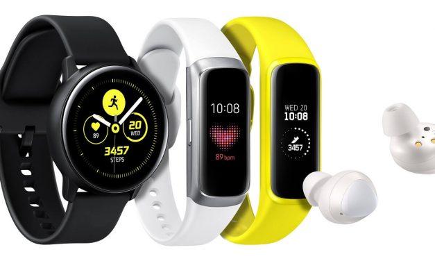 NP: Samsung presenta tres nuevos wearables para una vida equilibrada y conectada