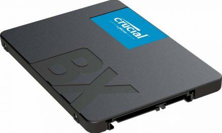 Crucial BX500, nueva variante de 960 GB llega al mercado