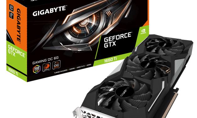 NP: GIGABYTE presenta la tarjeta gráfica GeForce GTX 1660Ti
