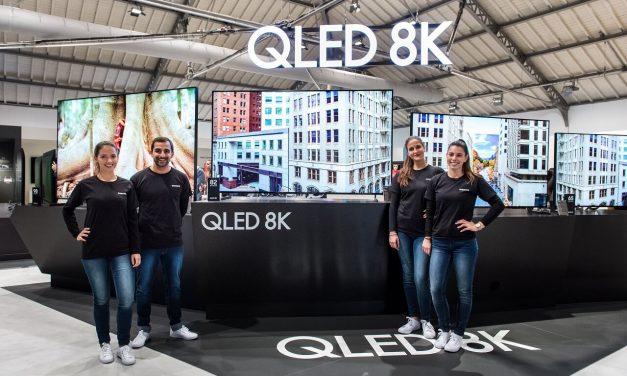 NP: Samsung muestra su gama completa de televisores QLED 2019 en el Euroforum de Portugal