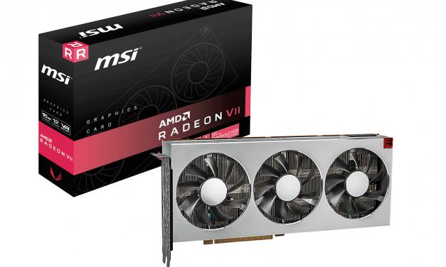NP: MSI anuncia la nueva tarjeta gráfica de AMD Radeon™ VII