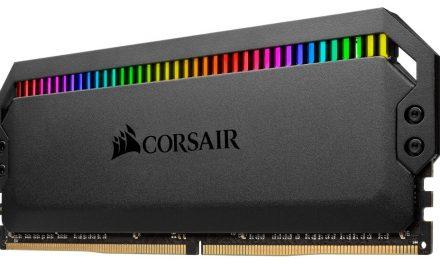 NP: CORSAIR anuncia la memoria DDR4 DOMINATOR PLATINUM RGB