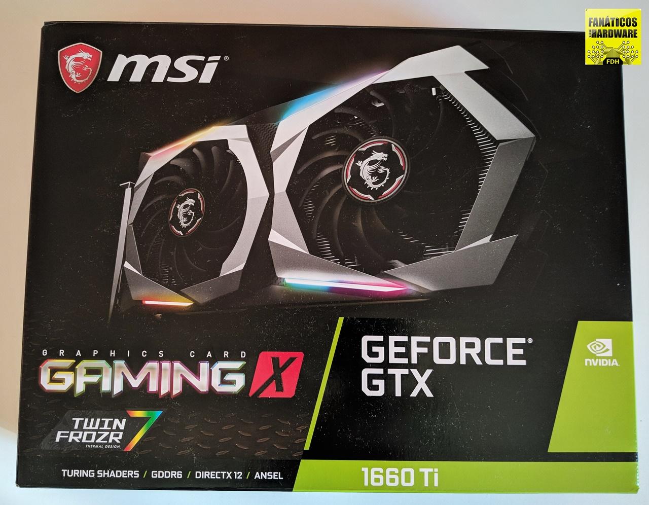 Review MSI GTX 1660Ti Gaming X