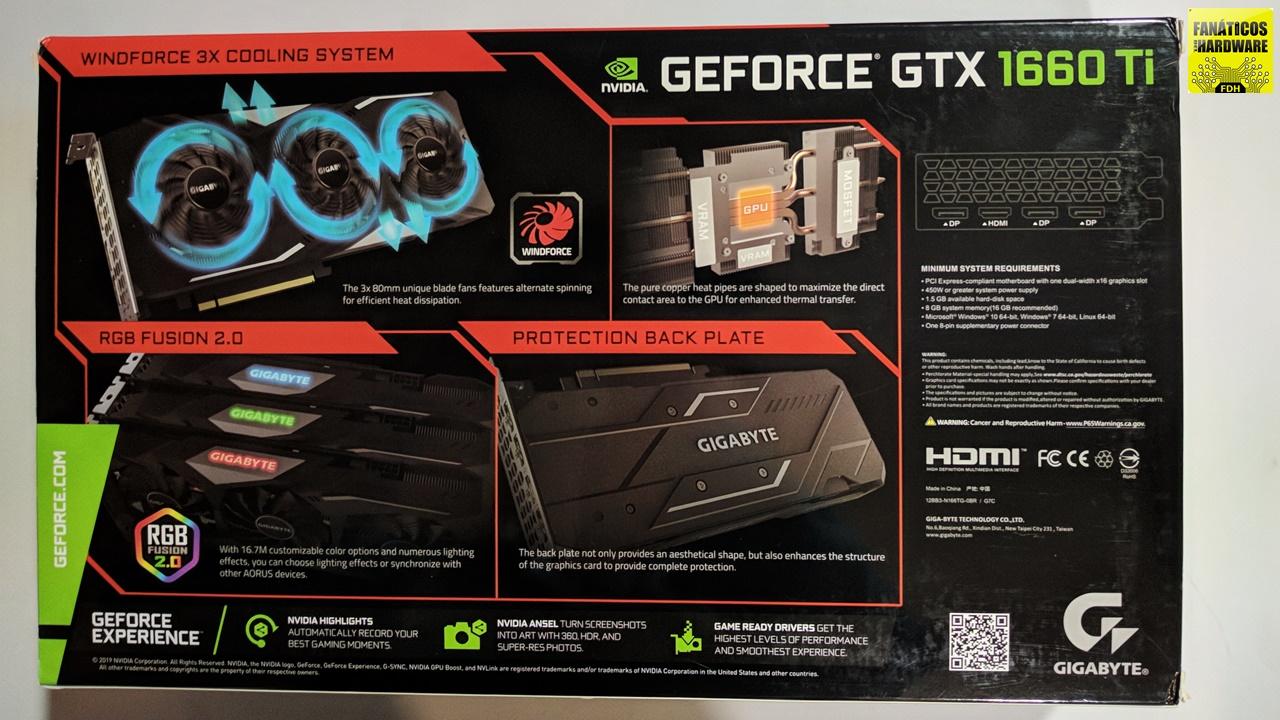Review Gigabyte GTX 1660Ti Gaming OC
