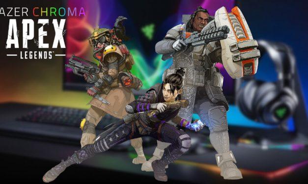 NP: Razer Chroma integra efectos de iluminación en Apex Legends