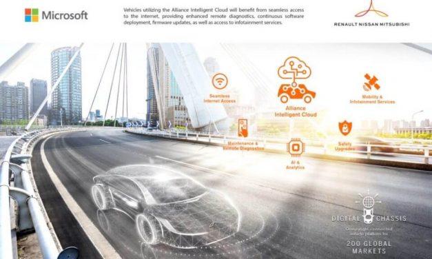 NP: Renault-Nissan-Mitsubishi lanzan Alliance Intelligent Cloud en Microsoft Azure