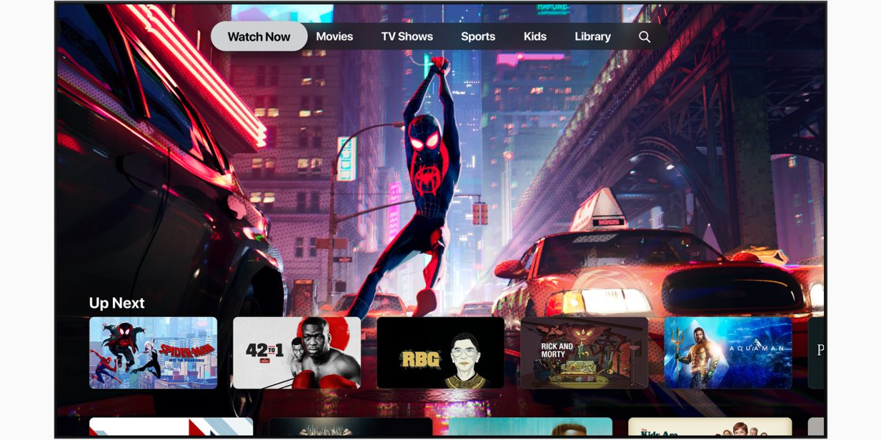 Apple presenta Apple TV+ en la nueva versión de Apple TV app