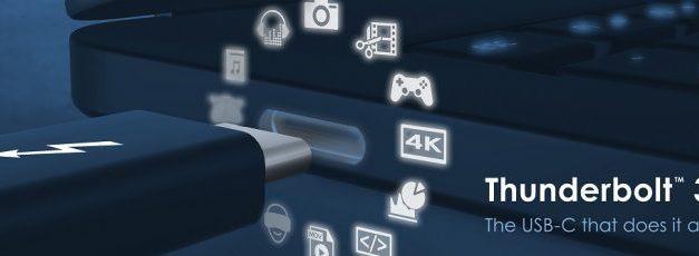 NP: Intel ofrece un protocolo para facilitar el uso de la tecnología Thunderbolt 3