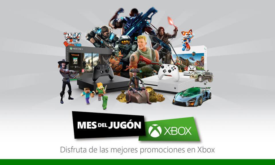 NP: Llega el Mes del Jugón 2019 con Xbox